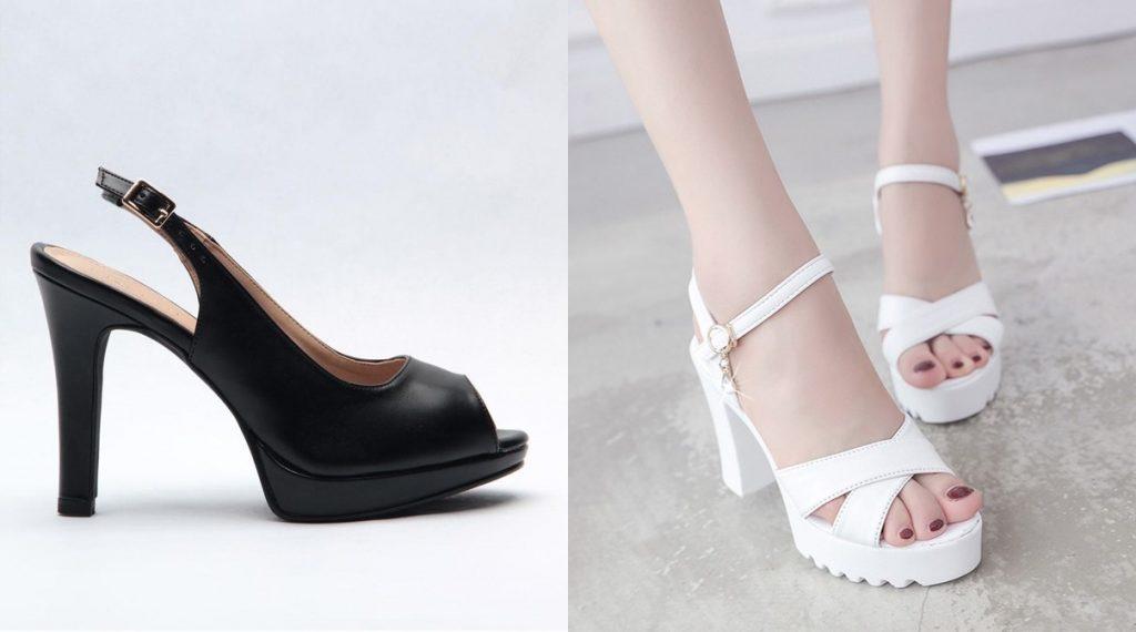 platform heels comfortable heels singapore