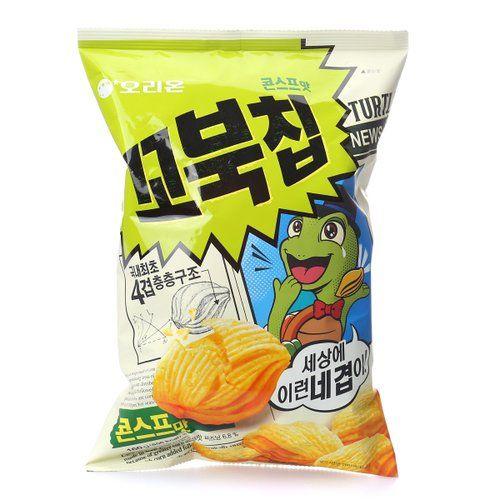 turtle chips korean snacks