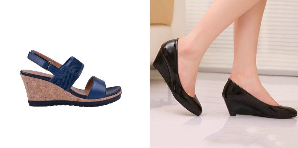 wedge heels comfortable heels singapore