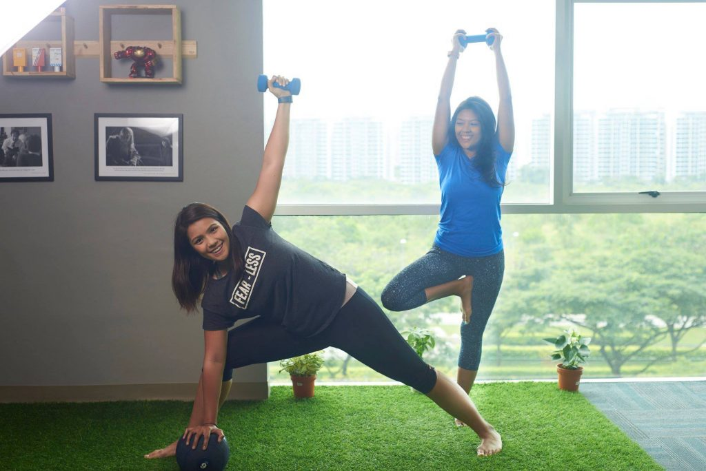 1-habit personal trainer singapore