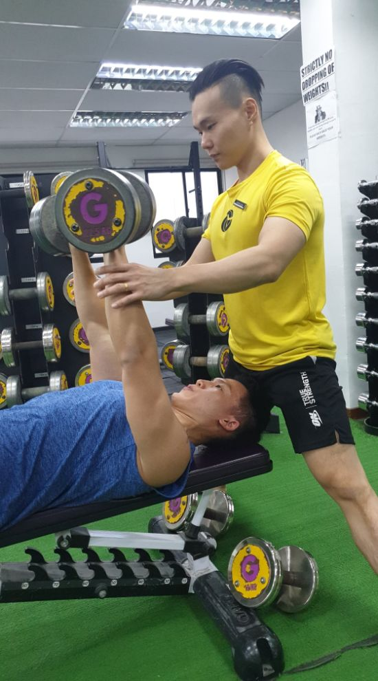 genesis gym personal trainer singapore