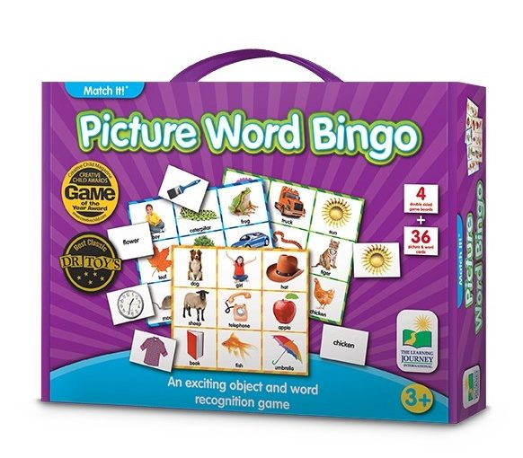 picture bingo brain teasers for kids