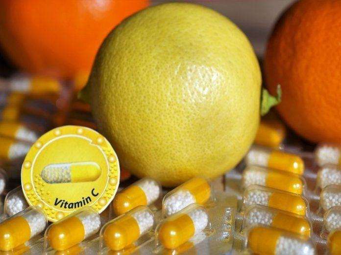 vitamin for skin vitamin c orange pills