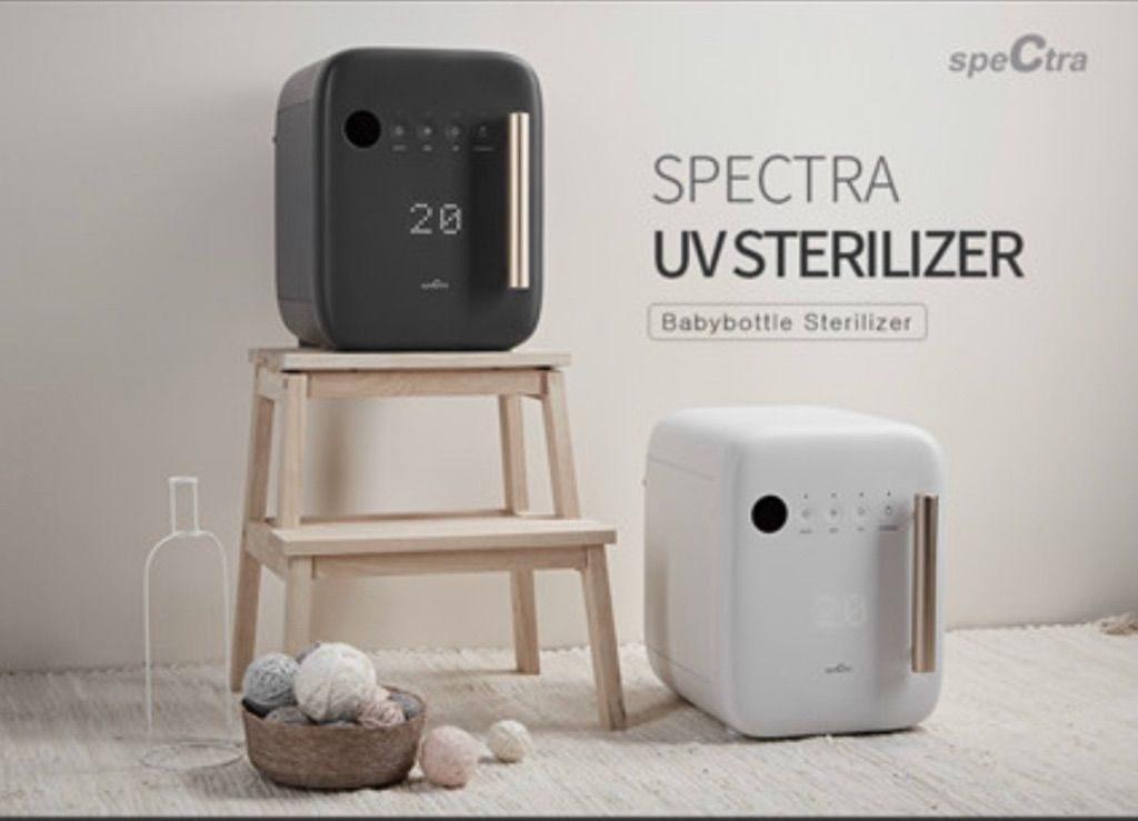 spectra uv baby bottle steriliser