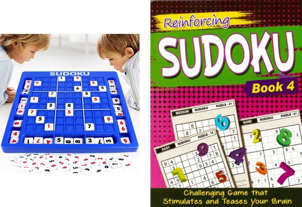 sudoku brain teasers for kids