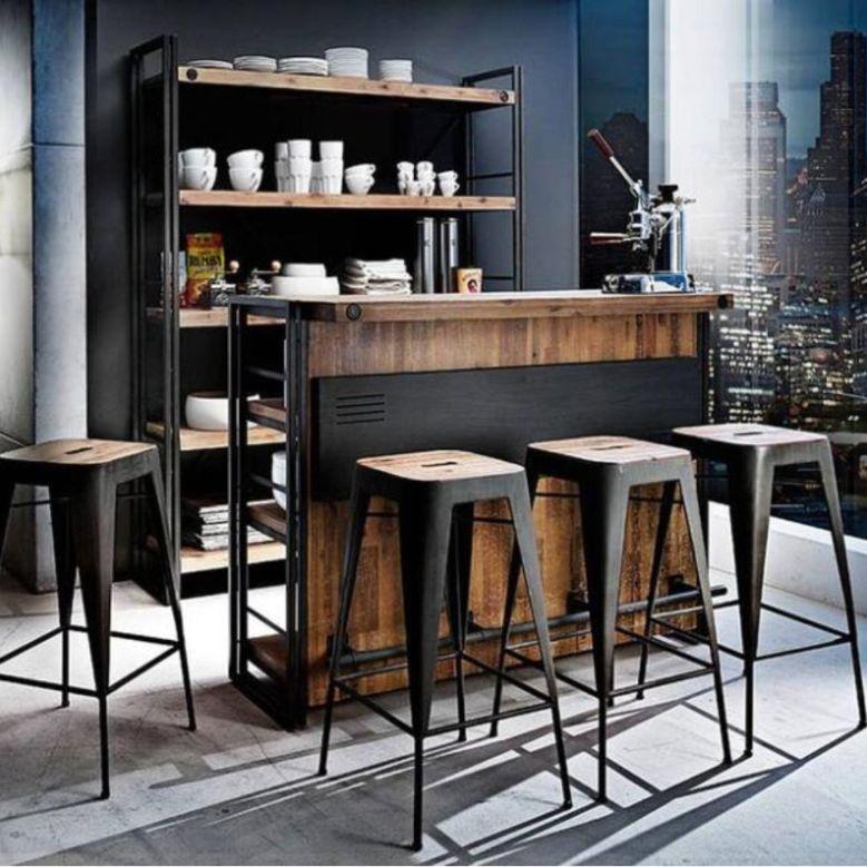 vintage bar counter design