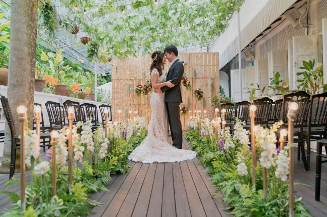 unique wedding venues singapore botanico the garage botanical gardens