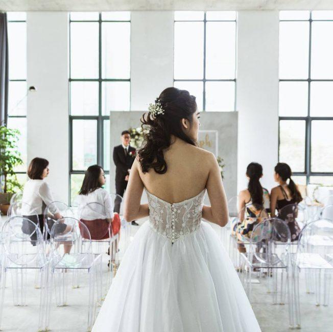 unique wedding venues singapore chun tsubaki minimalist industrial warehouse