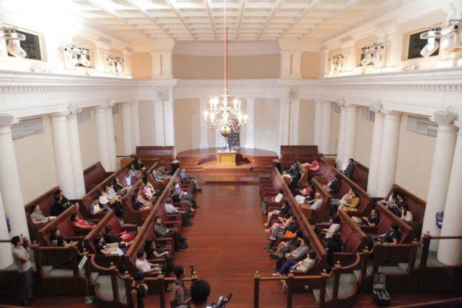 unique wedding venues singapore the arts house old parliament
