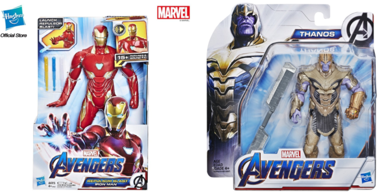 action figures iron man and thanos marvel merchandise in singapore