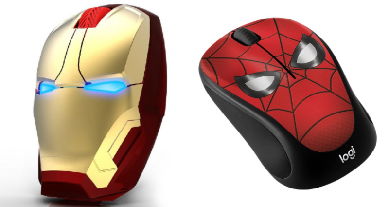 wireless mouse marvel merchandise in singapore