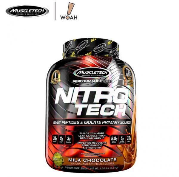 muscletech nitrotech best protein powders