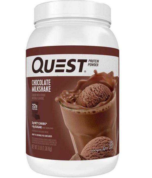 quest nutrition chocolate milkshake best protein powders