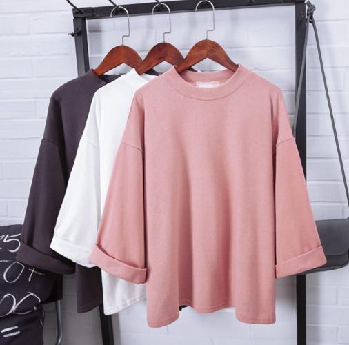 Ready Stock! Student Korean Oversize Tee T-Shirt