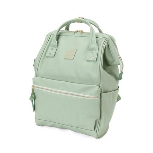 anello kuchigane backpack mint green