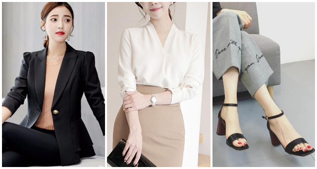 what to wear to an interview outfit women semi formal business causal jacket blouse heels