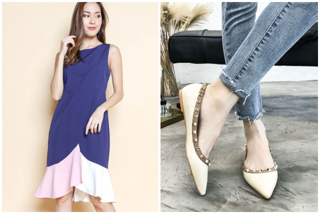 what to wear to an interview outfit women casual attire dress flats