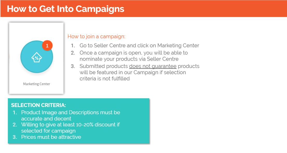 Get to Campaigns