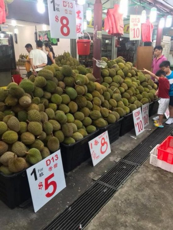 king fruits durian durian stalls singapore