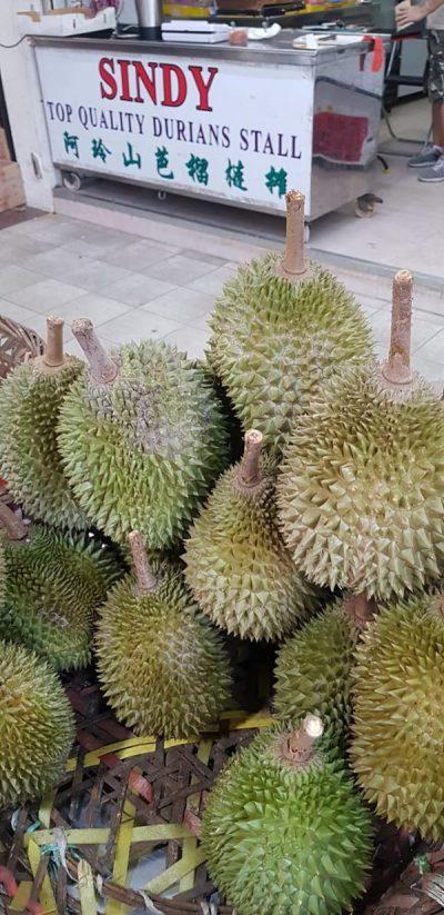 sindy durian durian stalls singapore