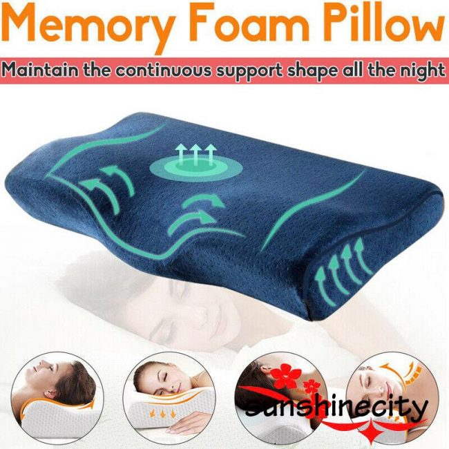 best pillows for neck pain posture correction curve memory pillow
