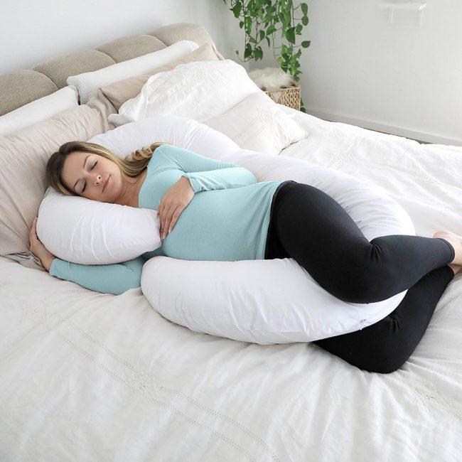best pillows for neck pain maternity full body c-shaped pillow bolster