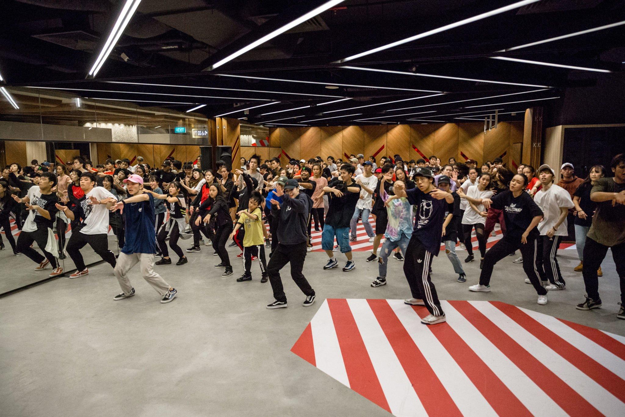 recognize dance studio in singapore
