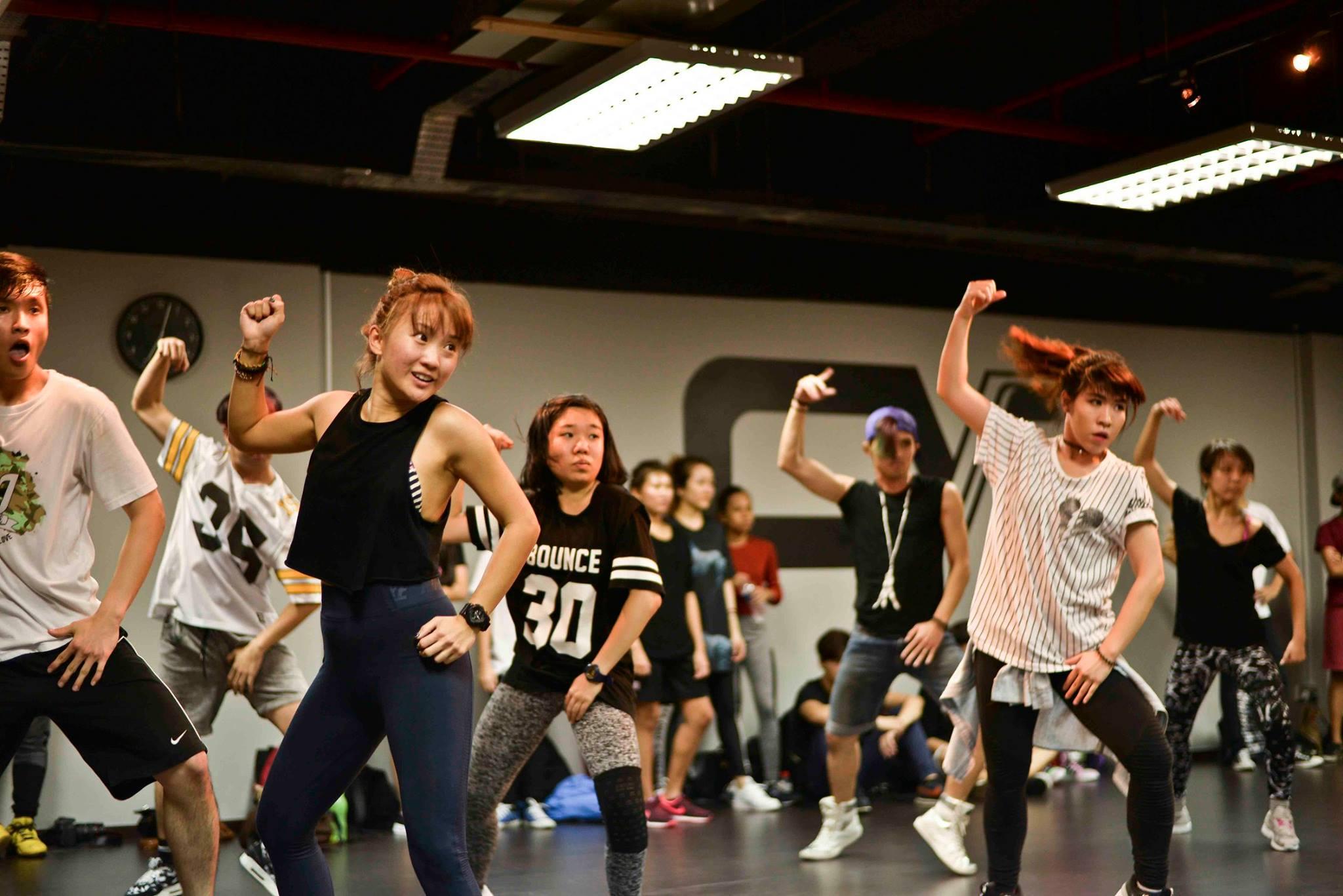 converge dance studio in singapore