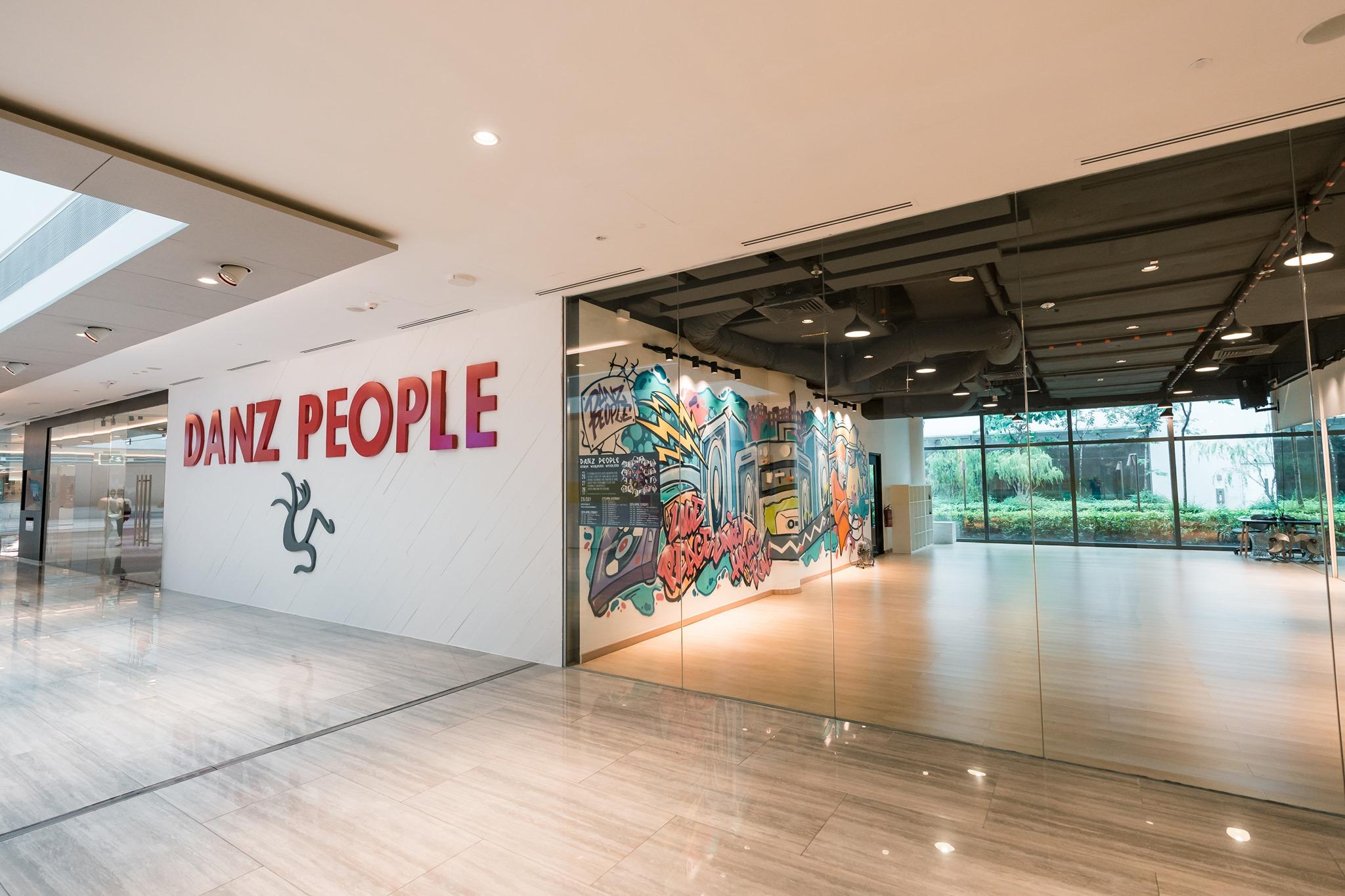 danz people dance studio in singapore