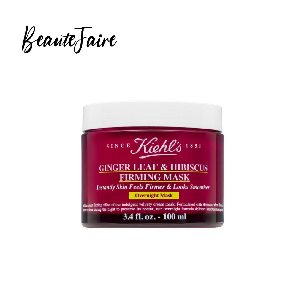 Kiehl's Ginger Leaf and Hibiscus Firming Mask