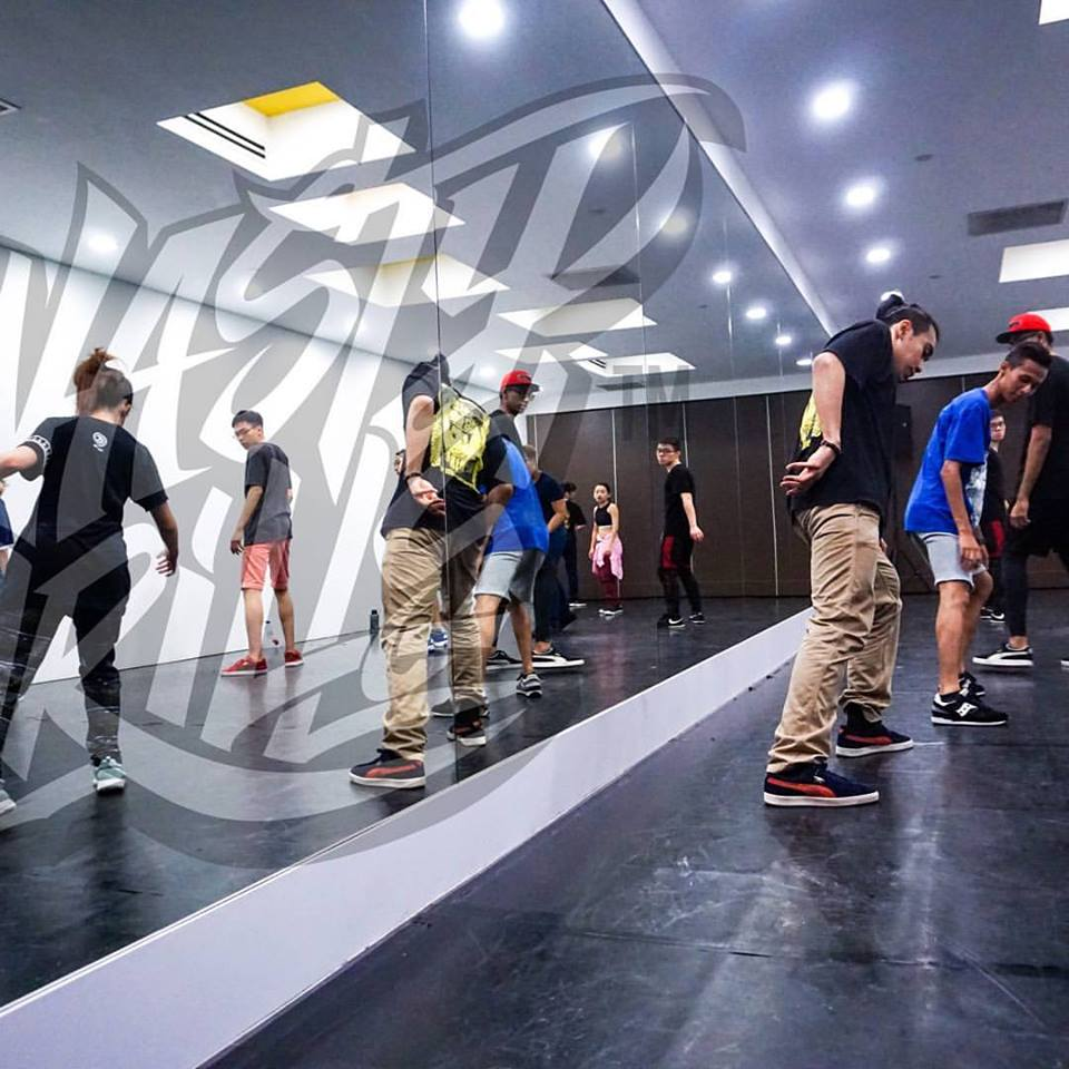 nasty drills dance studio in singapore