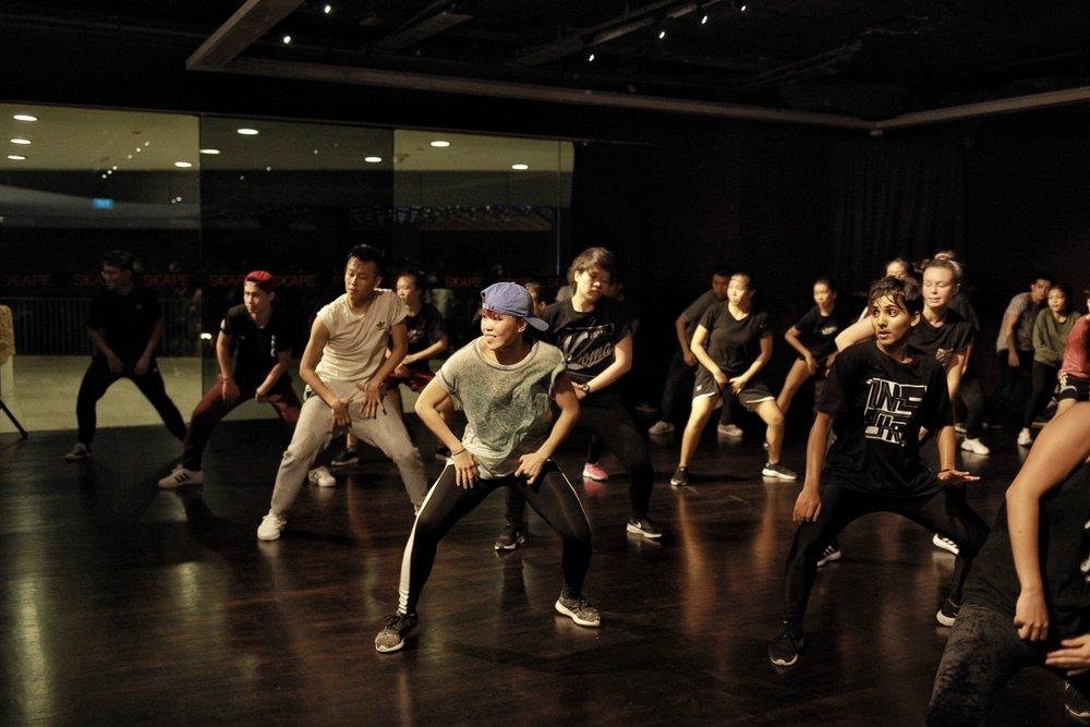 o school dance studio in singapore