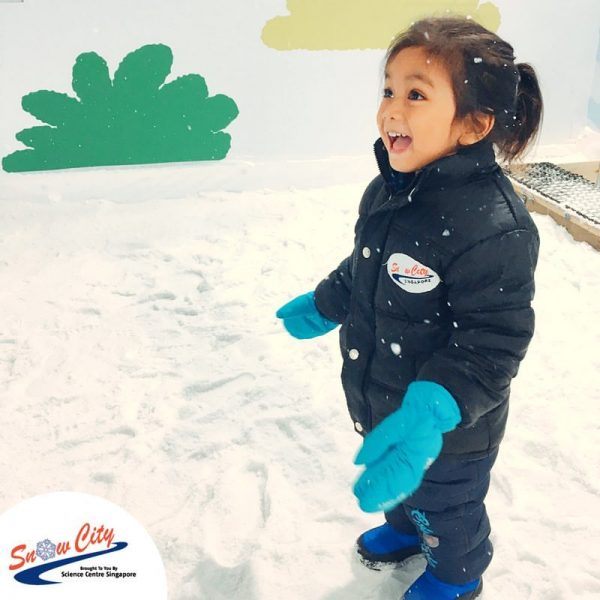 snow city things to do in singapore with kids