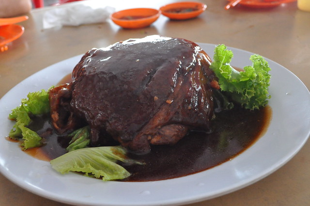 best hawker stalls in singapore north jia jia xing braised pig trotter pig organ soup