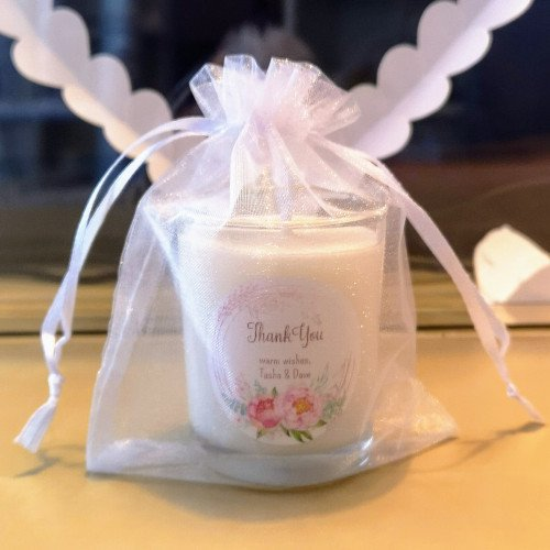 Natural Soy Wax Candle Favors