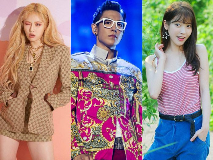 k-pop idol diet hyuna bigbang top iu singer actor