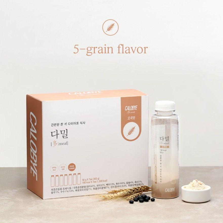 calobye diet shake korean meal replacement