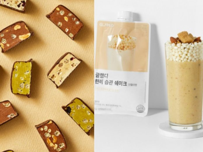 korean diet meal replacement products