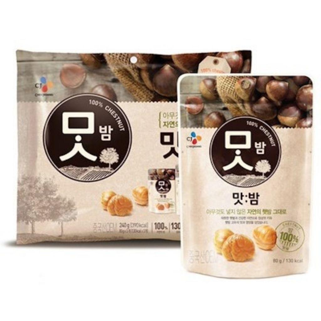 roasted chestnutes korean diet