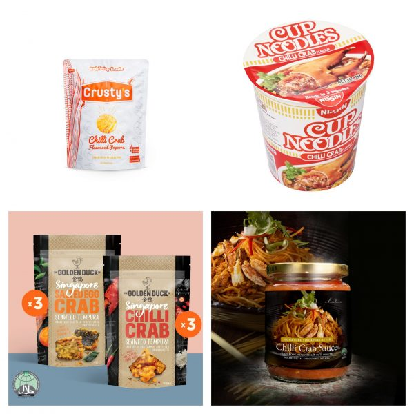 singapore gifts for overseas friends chilli crab snacks