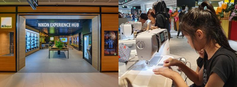 workshops new funan mall