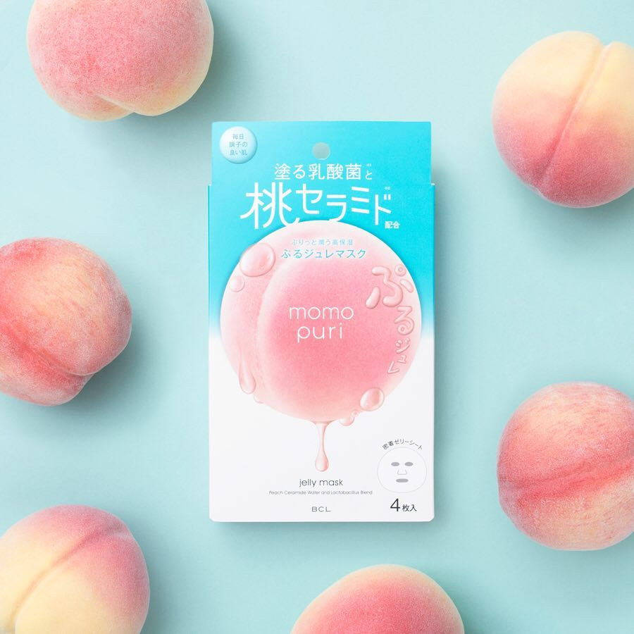 Momo Puri Peach Jelly Mask