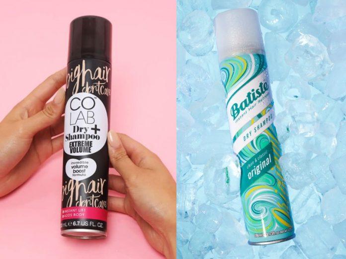 best dry shampoo singapore