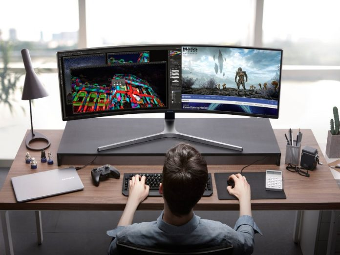 featured best gaming monitors dual screen gamer