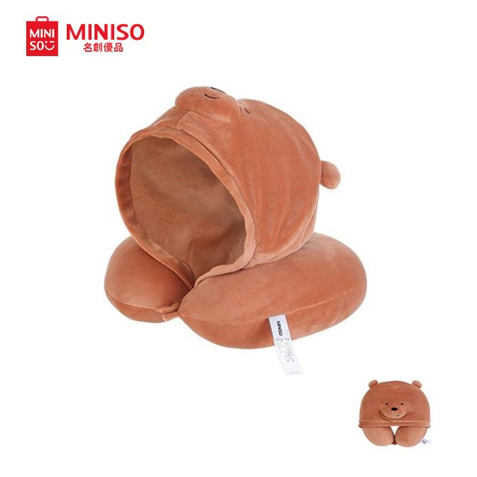 miniso best travel pillow with hood