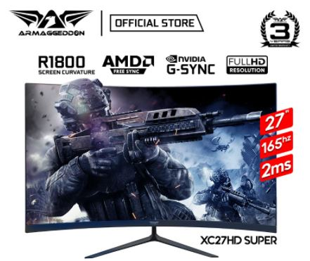 armaggeddon xc27hd super best gaming monitor