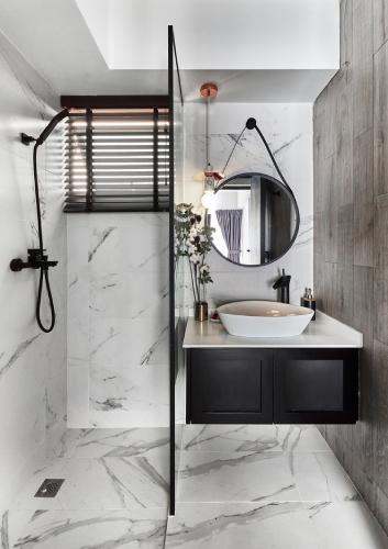 white bathroom bto ideas