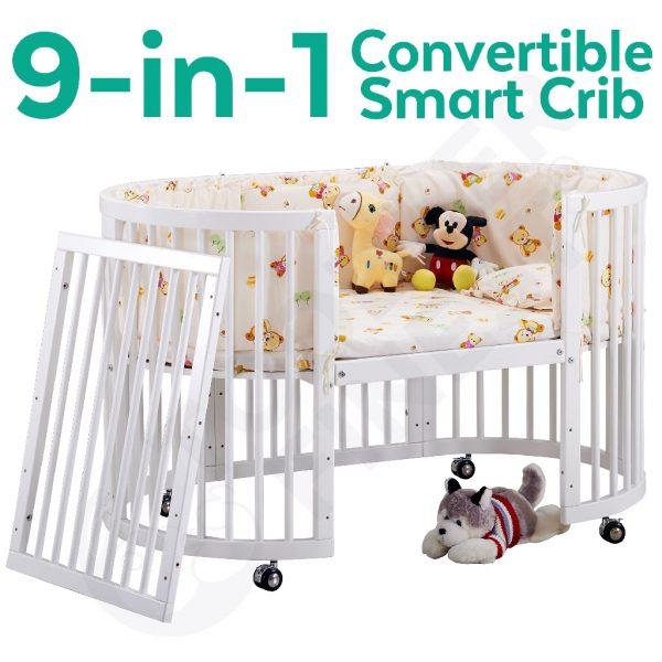 newborn checklist 9 in 1 convertible baby crib