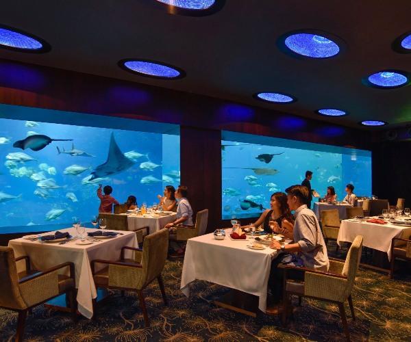 ocean restaurant unique restaurant singapore