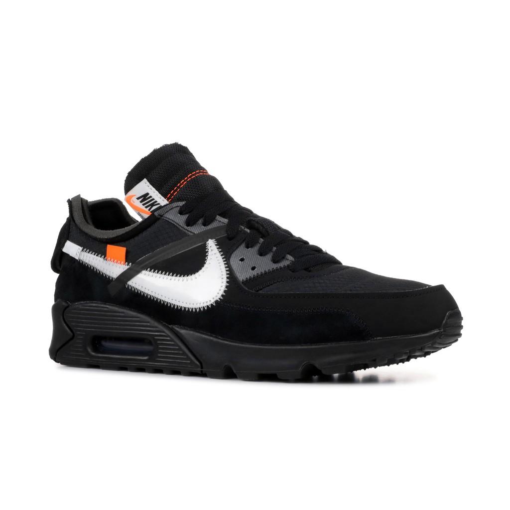 "Off-White x Nike Air Max 90 ""Black"""